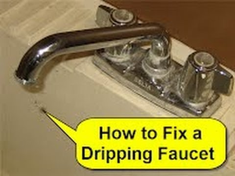 How To Fix A Dripping Faucet You