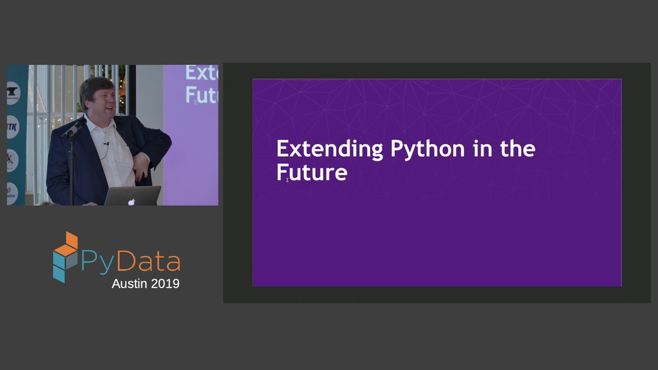 Image from Travis E Oliphant: Extending Python Into the Future | PyData Austin 2019