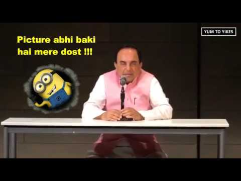 New York University - Indian BJP Leader Subramanian Swamy Crushed by Pakistani Student 2016