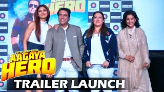 Aa Gaya Hero TRAILER LAUNCH | Full HD Video | Govinda, Shilpa Shetty