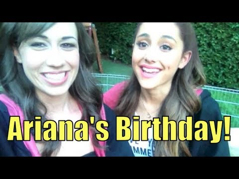 ARIANA GRANDE'S 20th BIRTHDAY!