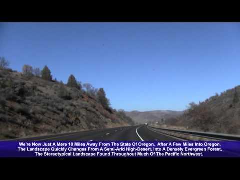 I-5 North (CA & OR), Siskiyou Summit (Edited Version)