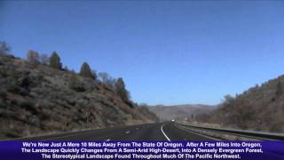 I-5 North (CA & OR), Siskiyou Summit (Edited Version)
