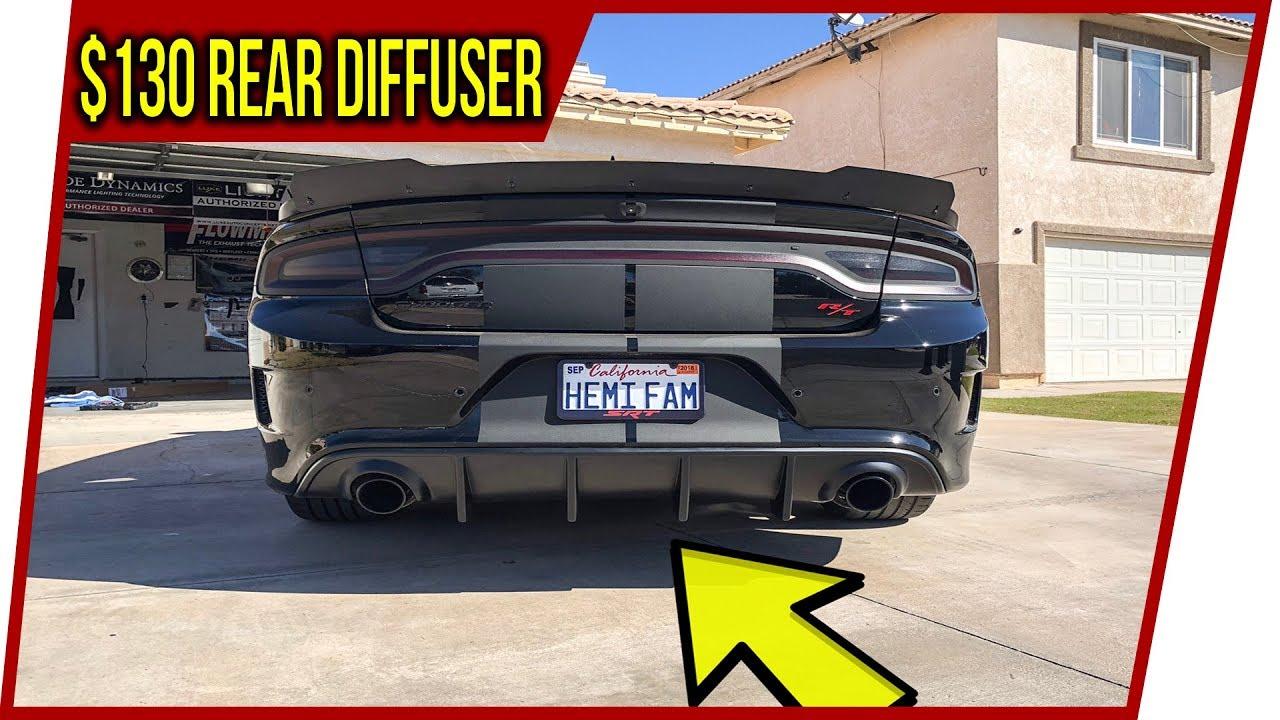 Srt Dodge Dart >> iKon Motorsports Rear Diffuser First Looks + Install! ️ - YouTube