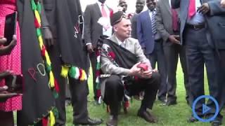 Lonyang'apuo leads West Pokot elders in installing Israel Ambassador to Kenya, Noah Gendler as elder
