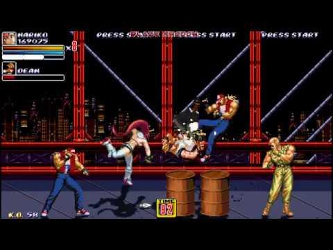 Streets of Rage 2X Megamix (OpenBoR) Nariko/Yoko, 2nd stage