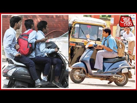 Underage Driving On A High Among Delhi School Kids