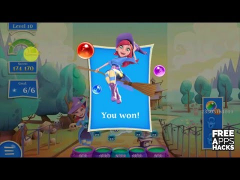 Bubble Witch 2 Saga - Unlimited Boosters/ Unlimited Lives - Freeappshacks.com