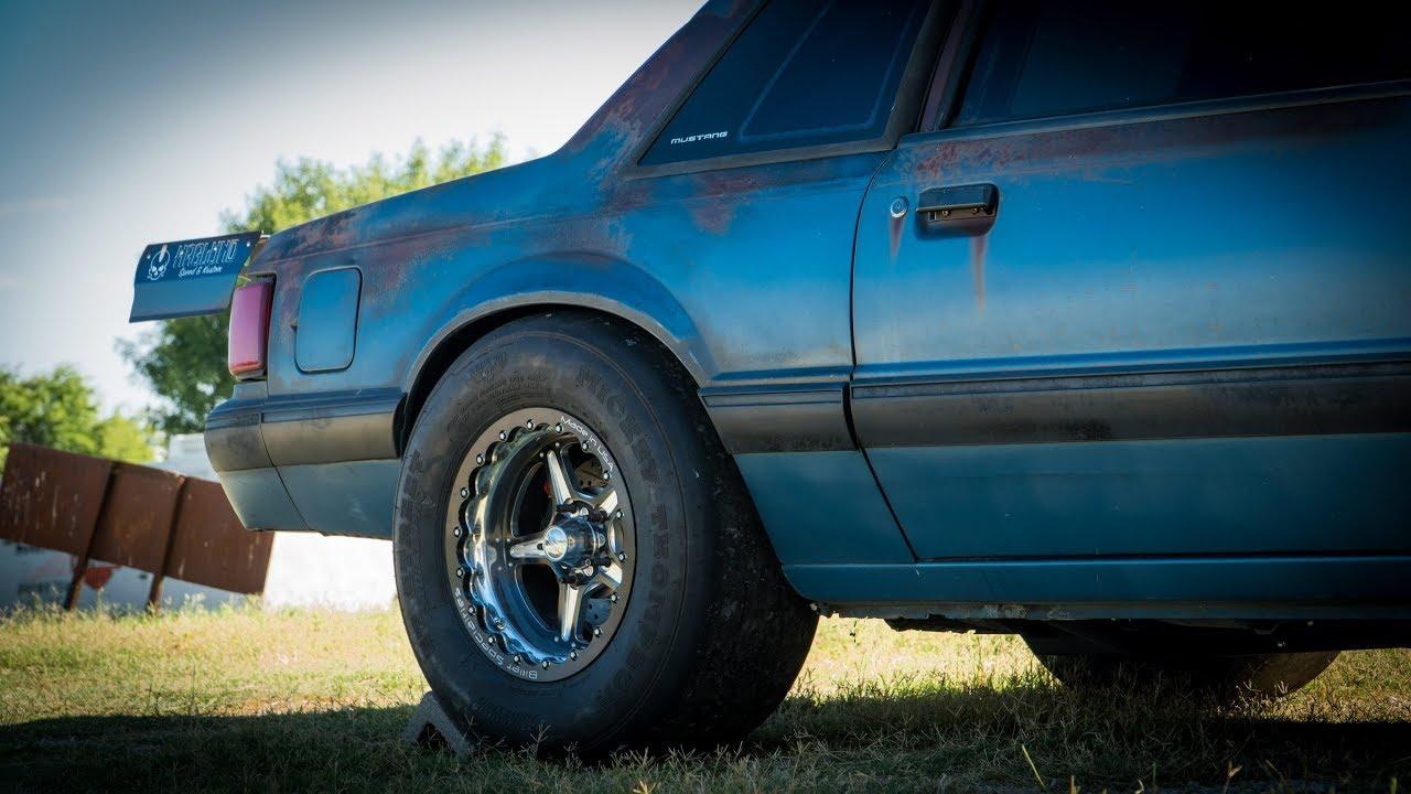 Texas Jam Racing - The Rustang Scotts Fab Wing Install