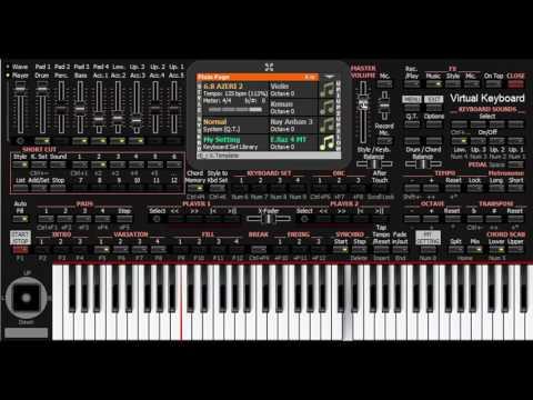 Dili Dilavər - KORG PA4X - PC