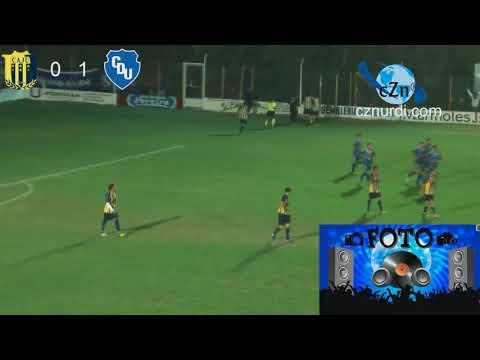Gol de Emiliano Ochoa a Juventud Urdinarrain