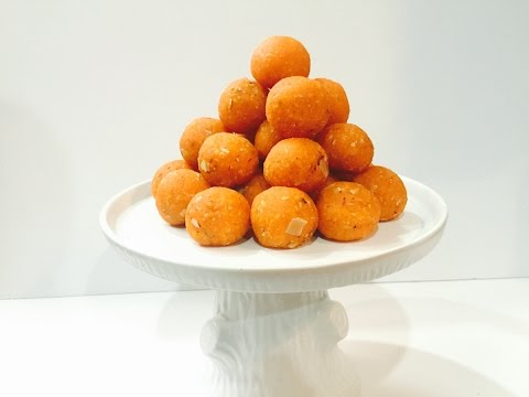 Motichoor Ladoo Recipe  Perfect Motichur Ladoos  Indian Sweet in Gujarati