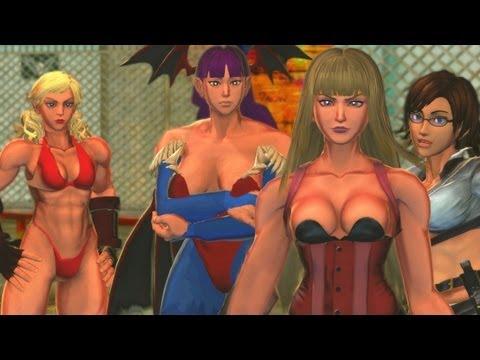 Street Fighter X Tekken - All Tekken Rival Cutscenes (PC MODS) [1080p] TRUE-HD QUALITY