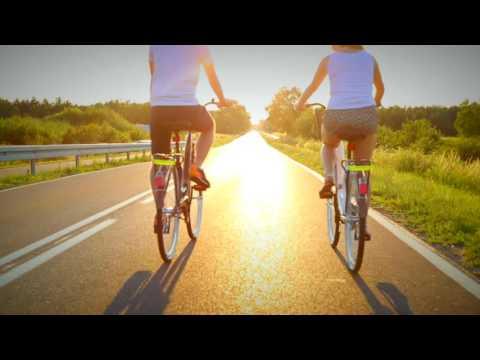 rowerowa wycieczka państwa młodych