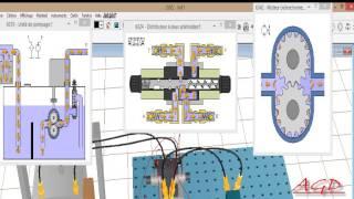 Simulation d'un circuit Hydraulique