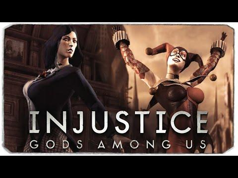 Injustice: Gods Among Us. СМОТРИМ КОСТЮМЫ, Ч.1