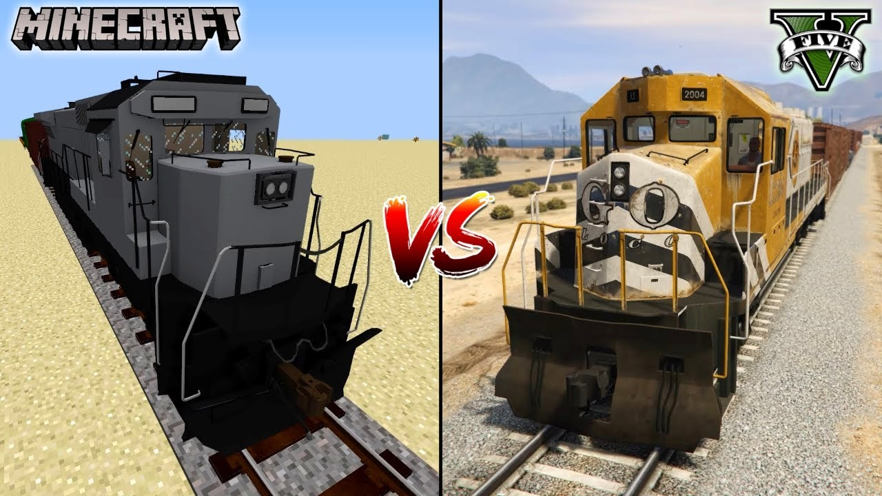 Download MINECRAFT TRAIN VS GTA 5 TRAIN - SPECIALLY FOR 1 MILLION SUBSCRIBERS