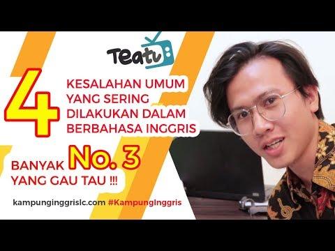 4 Kesalahan dalam Berbahasa Inggris (No.3 Jarang yang TAU) | TEATU with Mr Diaz - Kampung Inggris LC