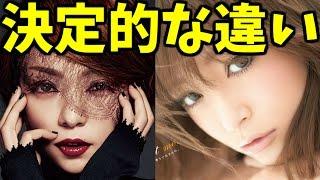 安室奈美恵と浜崎あゆみの明確な違いとは?ネットでその差は歴然の声! ...