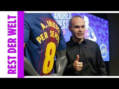 Lebenslang Barcelona! Andrés Iniesta bleibt bis zum Karriereende