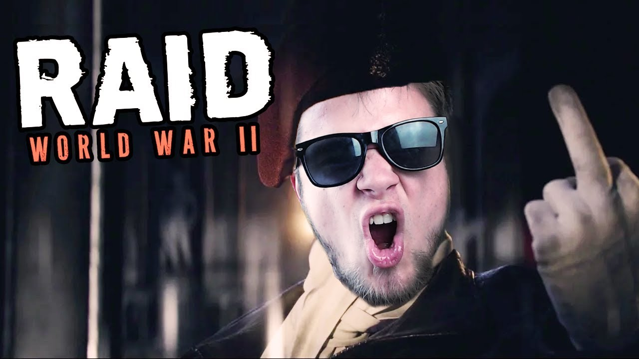 NAZIŚCI W LESIE! | RAID: World War II [#2] (With: Robuch, Tominator, Hubert)