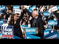 Bernie Sanders holds campaign rally with AOC
