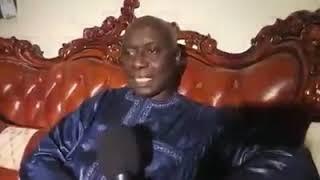 Idrissa SECK à Grand Yoff chez Serigne Fallou Sohibou pour assister à la clôture de la journée de pr
