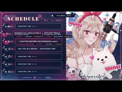 【WEEKLY SCHEDULE】Free Chat 👻🎼【NIJISANJI EN | Reimu Endou】
