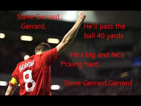 Steven Gerrard Song-Lyrics