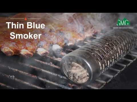 Wood Pellet Smoking Tube - Green Mountain Grills Thin Blue Smoker