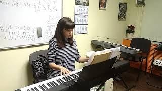 """Музыка из фильма """"Ирония судьбы, или С лёгким паром!"""", фортепиано, играет Дарья"""