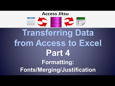 Export Data From Access to Excel – Access Jitsu