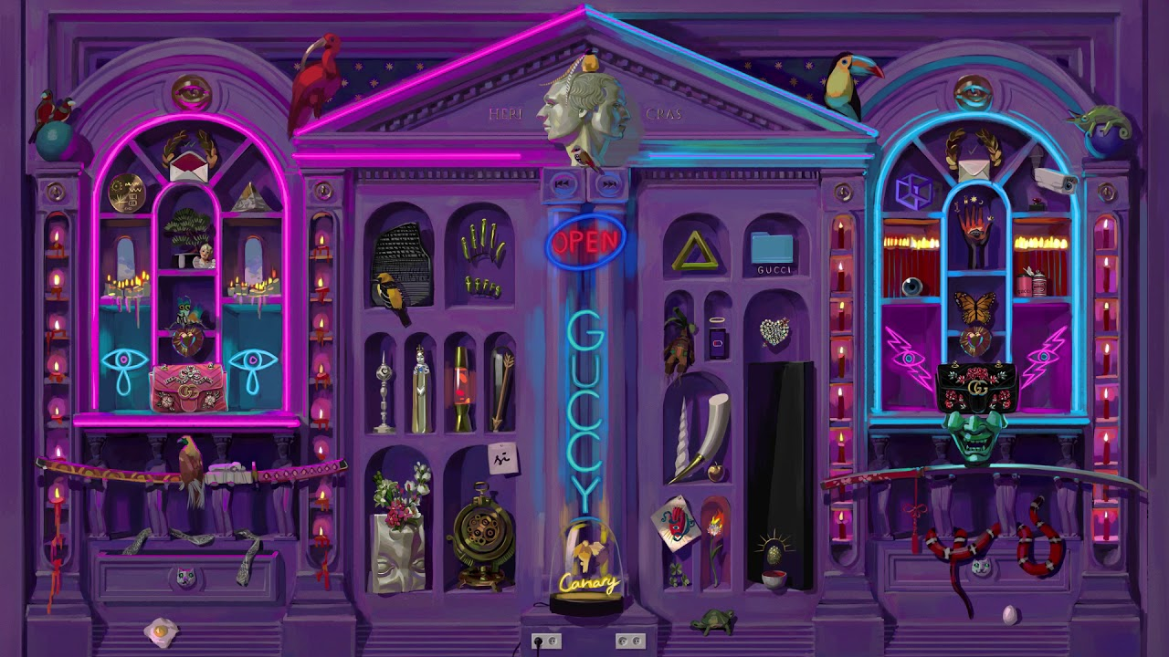 Gucci Gift Campaign: The Cabinet of Curiosities