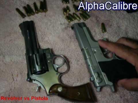 Revólver vs. Pistola - Ventajas y Desventajas