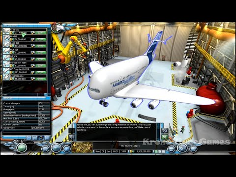 Airline Tycoon 2 Gameplay (PC/HD)