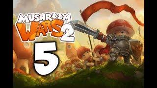Mushroom Wars 2. Прохождение. Часть 5 (Как же бесит чума)