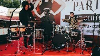 Шоу барабанщиков Rooftop. LIVE 16.09.2017