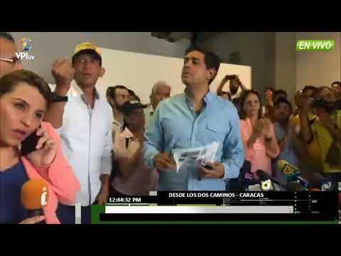 Venezuela - Ocariz: La lucha ahora debe ser para cambiar el sistema -VPI