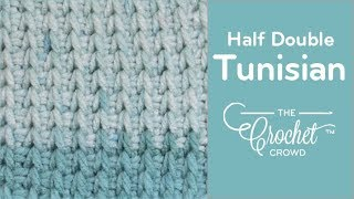 Tunisian - Half Double Stitch