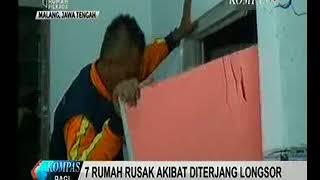Longsor di Malang