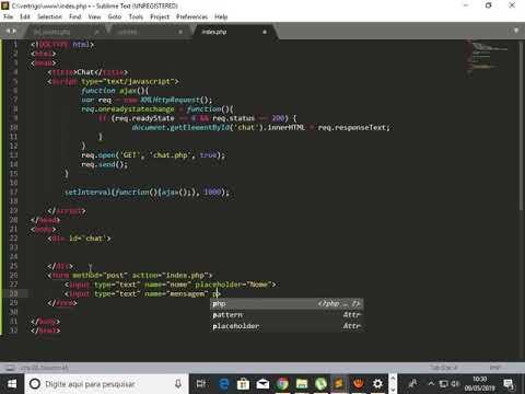Como Criar Um Sistema De Chat Em Tempo Real Com PHP E Java-Script