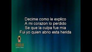 Karaoke - Traicionero (Estilo La Beriso)