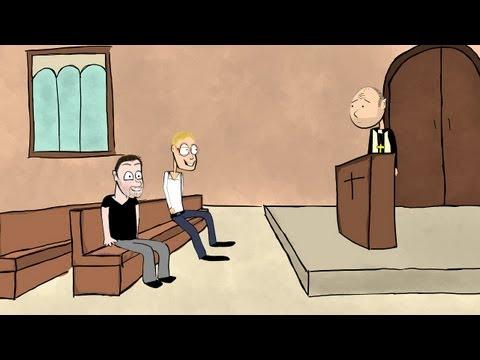 Karl Pilkington: The Bible (part 1) - Animated