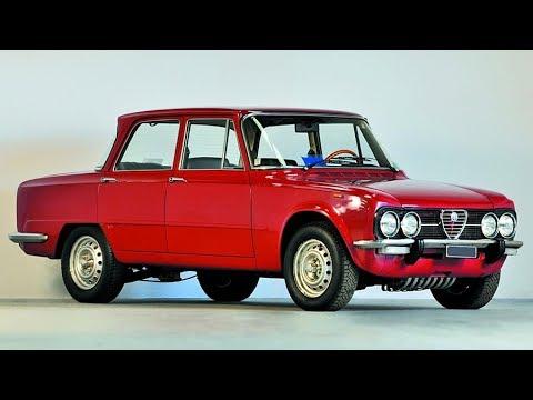 Alfa Romeo Giulia story, year 1962  - 1977 - sesta puntata