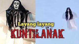 Tutorial on making scary Viral Kuntilanak kites