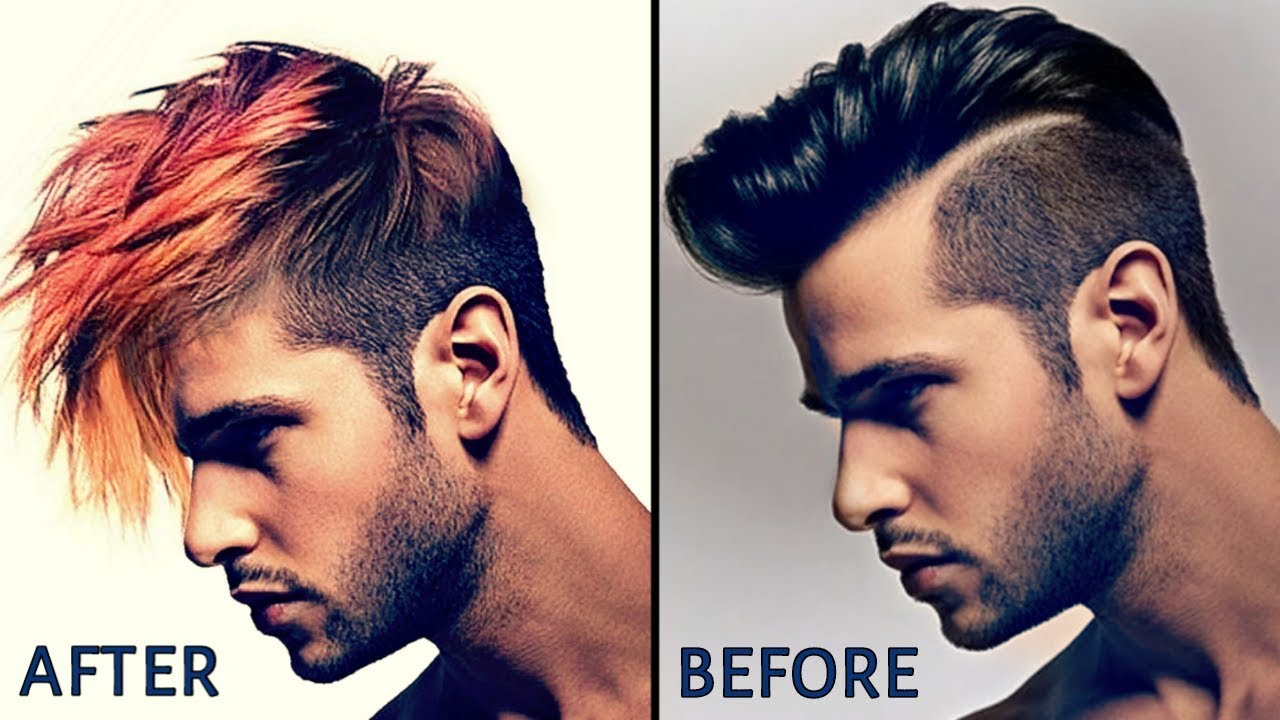 change of hair style picsart tutorial change hair style how to replace hair 7527