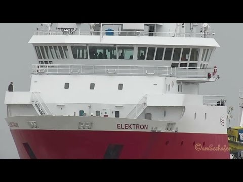 offshore supply vessel ELEKTRON LADO IMO 9386811 Emden Versorgerschiff