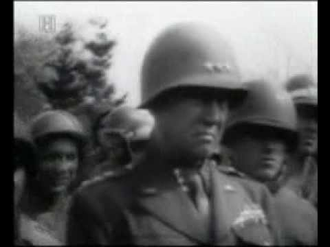 General Patton being witness at the horrors of concentration camp Ohrdruf 12.04.1945