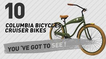 Columbia Bicycles Cruiser Bikes // New & Popular 2017