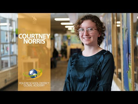 Grads at a Glance: Courtney Norris, PSD Global Academy
